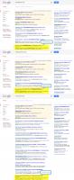 Конкурентные запросы. Позиции в Гугле.